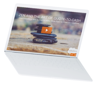 Zen and the Art of Quote-to-Cash