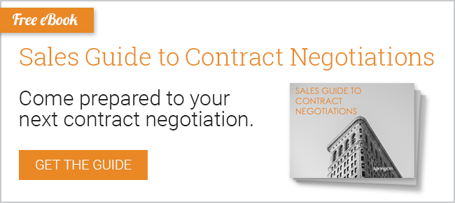 Sales Guide to Contract Negotiations